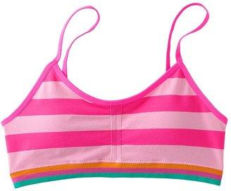 Maidenform striped seamless crop bra - girls