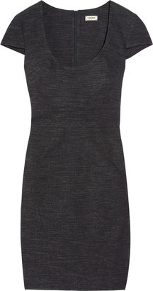L'Agence Stretch-denim dress
