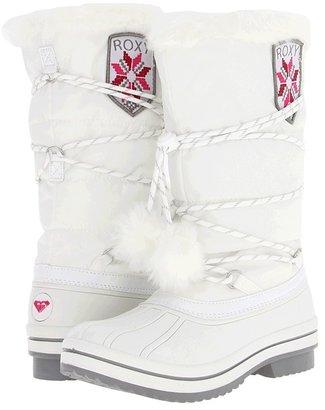 Roxy Slush Boot (White) - Footwear
