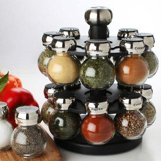 Olde Thompson 16-jar orbit spice rack