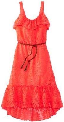 Amy Byer Girls 7-16 Lace Hi Low Dress