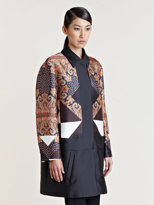 Givenchy Women's Patterned Coat