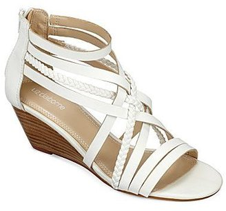 Liz Claiborne Wesley Strappy Wedge Sandals