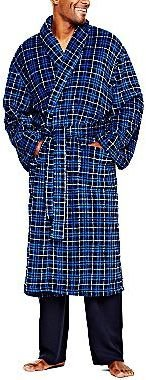 JCPenney Stafford® Patterned Soft Touch Robe