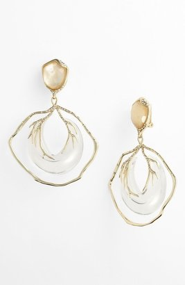 Alexis Bittar 'Ophelia' Large Vine Clip Drop Earrings