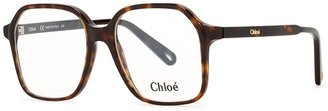 Chloé Willow Tortoiseshell Oversized Optical Glasses