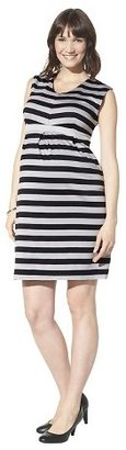 Liz Lange for Target Maternity Sleeveless Dress Black/Gray for Target®