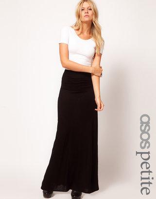 Asos Maxi Skirt With Seam Detail
