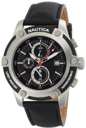 Nautica Men's N17573G NST 05 Black Dial Watch