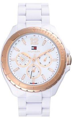 Tommy Hilfiger Round Multifunction Bracelet Watch, 42mm