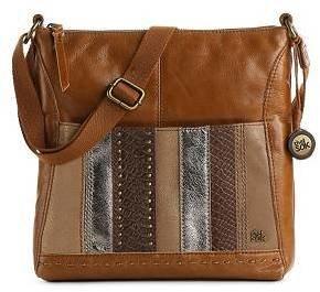 The Sak Iris Leather Cross Body Bag