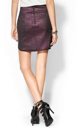 Tibi Quilted Jacquard Skirt