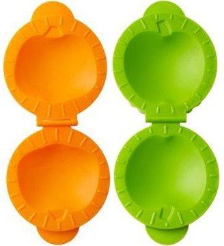 Tovolo 2-pc. Petite Pie Mold Set, Jack-O-Lantern and Apple