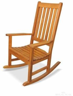 Regal Teak Carolina Teak Rocking Chair