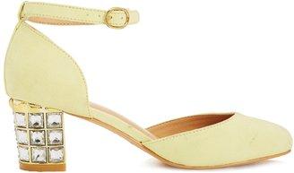 Asos SATELLITE Heels - Yellow
