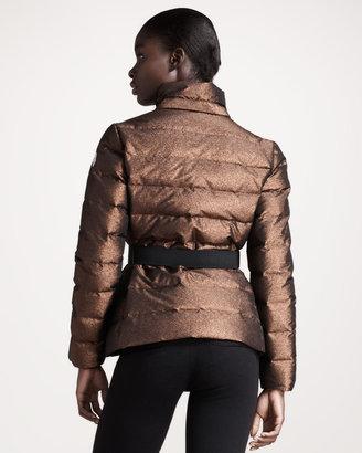 Moncler BG 111th Anniversary Metallic Puffer Jacket