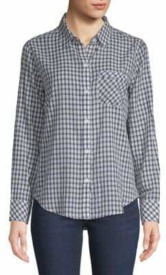 Rails Farrah Long-Sleeve Cotton Button-Down Shirt