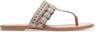Jessica Simpson Roelle Jeweled Thong Sandals