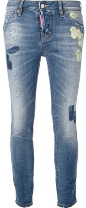 DSquared DSQUARED2 stone washed jean