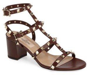 Women's Valentino 'Rockstud' Sandal $1,045 thestylecure.com