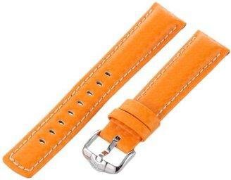 Hirsch 025920-76-20 20 -mm Genuine Calfskin Watch Strap