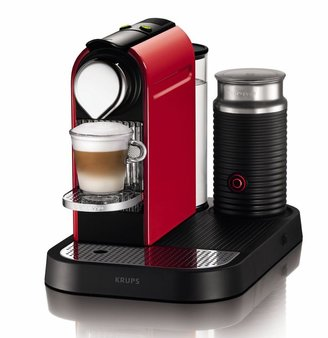 Krups Red Citiz & Milk Nespresso Coffee Maker XN730540