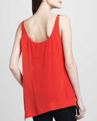Elizabeth and James Ester Sleeveless Silk Top