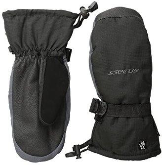 Seirus Heatwave Accel Mitt (Black/Charcoal) Over-Mits Gloves