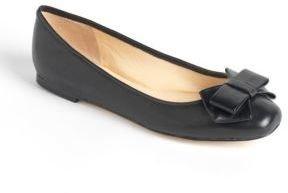 Ivanka Trump Hadyn Leather Ballet Flats