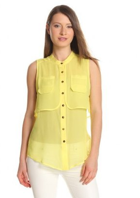 Plenty by Tracy Reese Women's Soft Solid Storm Flap Shell