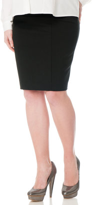 A Pea in the Pod Secret Fit Belly® Pencil Fit Maternity Skirt