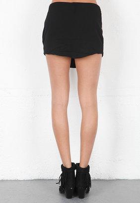 One Teaspoon Devil Inside Sequin Skirt in Studio 54