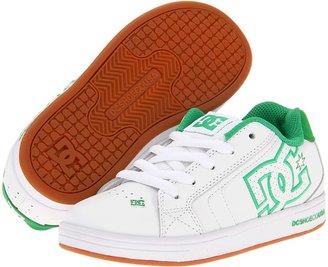 DC Kids - Net (Little Kid/Big Kid) (White/Gum) - Footwear