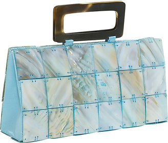 Global Elements Rectangle Mother of Pearl Handbag