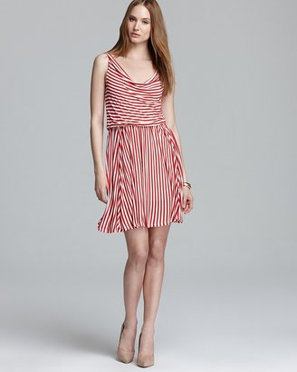 Ella Moss Dress - Gabi Stripe