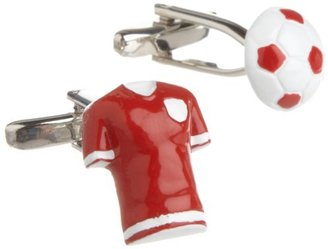 Maglite Mag Mouch Men's Soccer Ball And Shirt Cuff Link