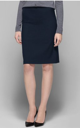 Theory Golda Pencil Skirt in Tailor Stretch Wool