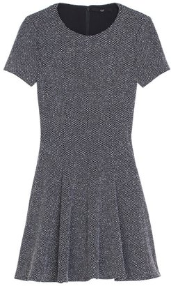 Tibi Birdeye Knit Short Sleeve Dress