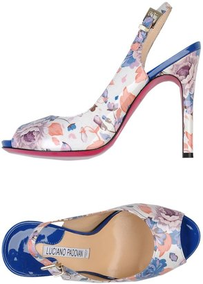 LUCIANO PADOVAN Sandals $251 thestylecure.com