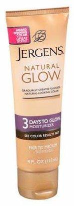 Jergens Natural Glow 3 Days to Glow Moisturizer Fair to Medium