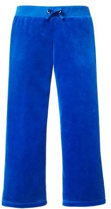 Juicy Couture Girls Basic Pant in Velour