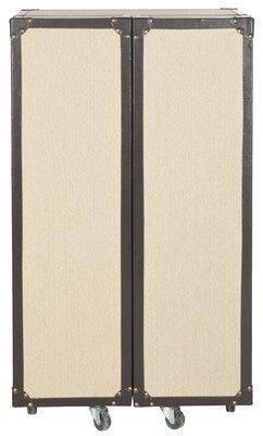 Safavieh Grayson Bar Cabinet with Wine Storage Color: Beige