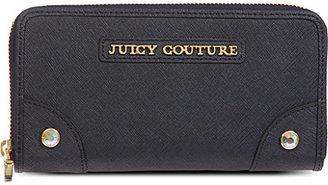 Juicy Couture Sophia saffiano zip wallet