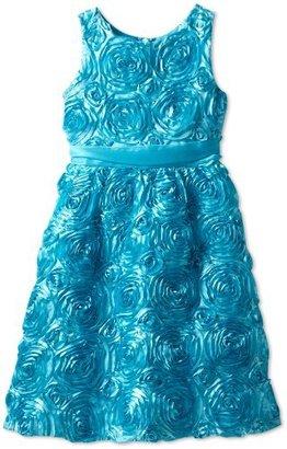 Rare Editions Girls 7-16 Plus Size Soutach Dress