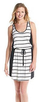 Jessica Simpson Rose Drawstring Striped Dress