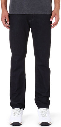 Diesel Mens Blue Comfortable Regular-Fit Tapered Jeans