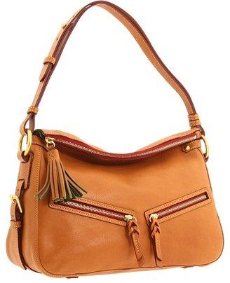 Dooney & Bourke Florentine Zip East/West Sac (Natural/Natural) Handbags