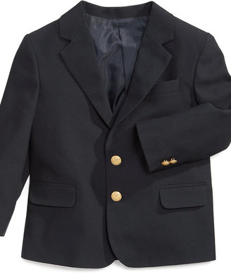 Izod Little Boys' Brass-Button Blazer