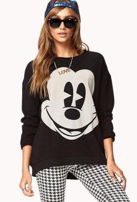 Forever 21 Cozy Mickey MouseTM Sweatshirt