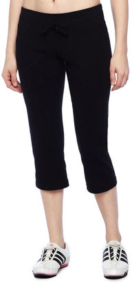 JCPenney Xersion French Terry Capris